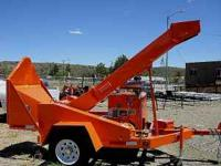 Woodchuck chipper shredder W/C-12, tow able, 300 six