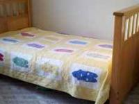 Wooden bunk beds - great condition (mattresses
