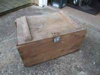 Wooden old TNT crate, good shape. call  Location: