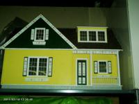 Real Good Toys brand. Assembled and hand painted 5 room