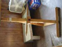 Wooden easel for sale. Can call . Ask for Annette.