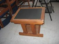 "I have solid wood end tables (dimensions 24"" x 18.5"" x"