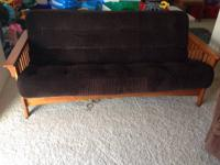 I have a Wooden Futon for sale. This is a full size