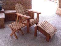 Adirondack Lounge $200.00 3 Pc. Adirondack Set (Chair,