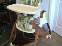 Fisher Price- Brentwood Baby collection high chair has