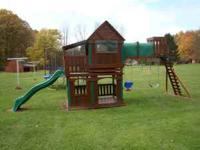 I have a wooden play set for sale it is only 4 years