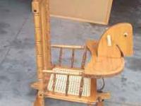 Antique Wooden Rocker/Stroller in fair condition with