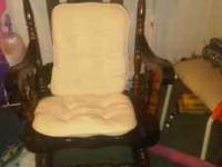 Sturdy Heavy rocking chair  Location: East Side