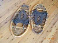 WOODEN SNOW SHOES WITH SLIP ON BINDERS GANDER MOUNTAIN