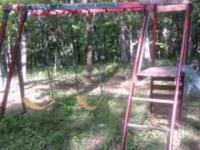 Wooden Swing Set Monkey Bars at top (2 need to be