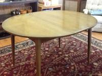 For Sale is a round (without fallen leave) Wood Table.