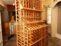 I have 3 of these wooden wine cellar for sale at $500