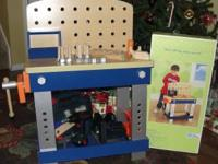 Wooden Workbench from Play Wonder & lots of extras to