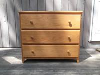 Two three-drawer dressers in good condition! Both are