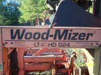 1995 model Woodmizer LT40 Hydraulic Sawmill in great