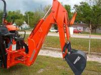 closeout price on Woods self-contained backhoes 2 to