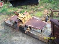 This is a Woods RM600 3pt hitch Finishing Mower that is
