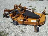 I'm selling a Woods Rd8400 finish mower. 3 point mount.