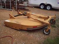 2004 WOODS BB840 -7' 3 POINT HITCH CUTTER -DUAL TAIL