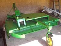 "WOODS CO80 OFFSET BRUSH MOWER, 80"" cut, offset to the"