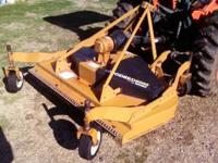 I HAVE A WOODS RD 6000 FINISH MOWER FOR SALE. USED LESS