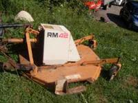 EARLY KUBOTA B6000 COUNTER CLOCKWISE MOTION BRUSH HOG ,