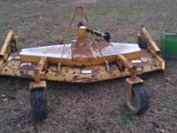 A great finishing mower with 7ft cut...needs belt and