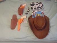 """Woody"" from Toy story Halloween Costume. Only worn one"