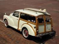 1970 Morris Minor Travellor-- Woody Wagon--has many of