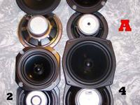 lots of speakers for sale, ALL NICE HIGH END WOOFERS,