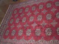 Lovely and soft Karastan Carpet. Wool. This is a