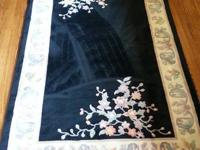 i have 2 rugs for sale. the first pic is of the smaller