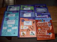 Words Their Way $40 set OBO, includes:.  -Emergent