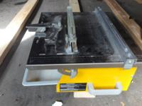 Workforce Tile Cutter THD550 $50 120 V Max cutting