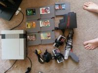 1985 NES in outstanding condition. All initial cables
