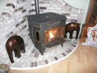 Country Flame Inc. Pellet Stove. It is the actual stove