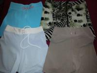 Huge lot workout shorts All will fit a size S-M Body