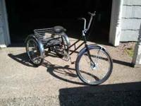 worksman 3 wheel bike. clean great tires and chain.