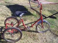 Worksman Handmade Adult Tricycle for $175.00 FIRM in