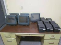 "5 Touchscreen WS4 15"", 8 printers, 5 cash registers,"