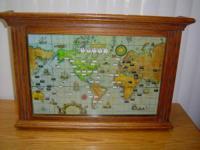 GLOBE CLOCK II by HOWARD MILLER CLOCKS.  1. World Clock