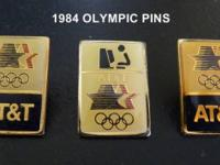 World Olympic PINS~ ATT USA. 1984 Los Angles summer