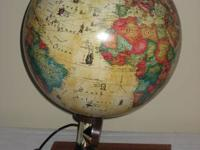 We are selling a World Globe that is lighted as well as