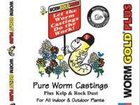 Our WormGold worm castings are specifically engineered