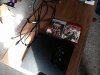 Worn PS3 with pop-off top and a free worn remote, GTA