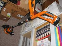Up for sale is a nice WORX GT WG150.1 10-Inch 18-Volt