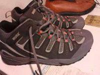 New WORX steel toe tennis/work shoes. Never used. Size