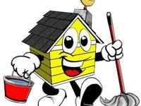 WOULD YOU LIKE YOUR HOUSE CLEAN? HOUSE CLEANING $15.00