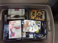 Over 200 brand-new titles of used DVD's merely in