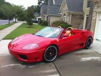 )(*)(ipoi_)(_)()(This 2001 Ferrari 360 Spider with RED